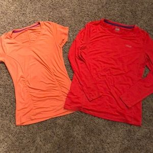 Workout shirts for a steal